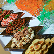 Corporate Canape Catering